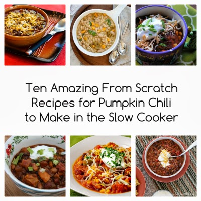 Ten from-scratch recipes for Pumpkin Chili