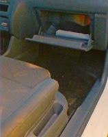 Foto de la guantera del VW fox trendline interior