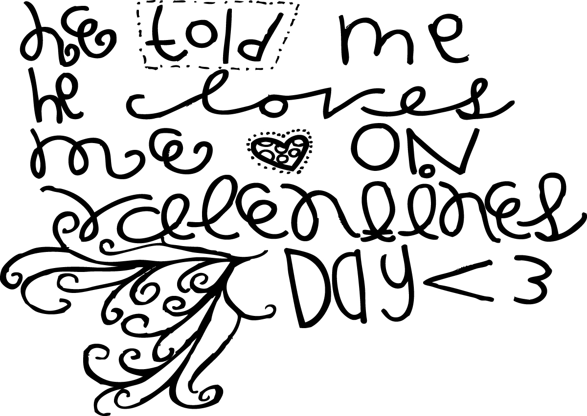 All Things Girly Illustrating January 2012 - coloring pages of girly things