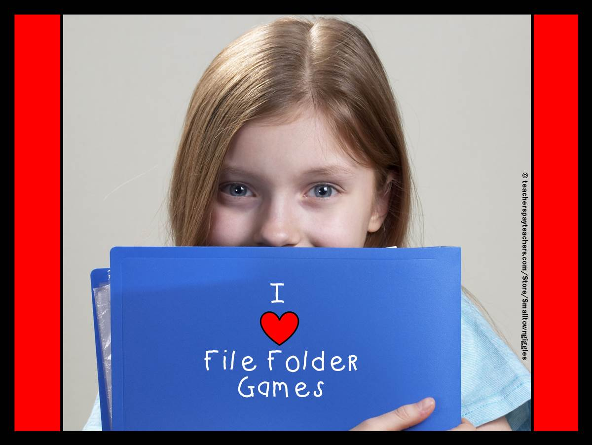 File Folder Games