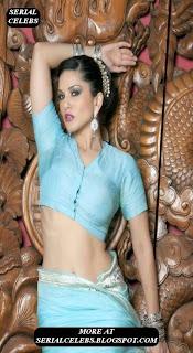 Sunny leone Sexy in saree