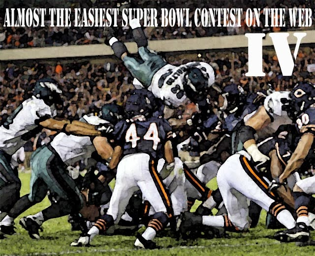 Almost the Easiest Super Bowl Contest on the Web IV