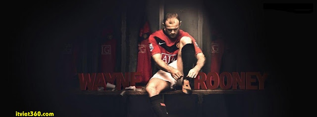 Ảnh bìa Facebook bóng đá - Cover FB Football timeline, Wayne Rooney