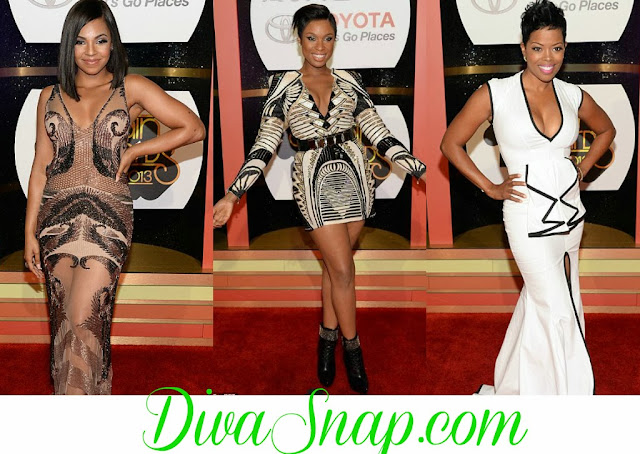 RED CARPET FASHION:  2013 SOUL TRAIN AWARDS KICK OFF WITH STYLE AND ELEGANCE-DivaSnap.com