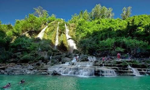 Wisata Alam Air Terjun Sri Gethuk Gunungkidul
