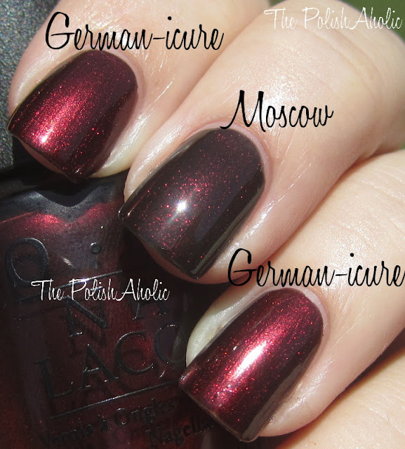 OPI German-icure by OPI vs OPI Midnight In Moscow JPGOpi German Icure