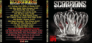 CD Scorpions – Return To Forever [Deluxe Editions] (2015)