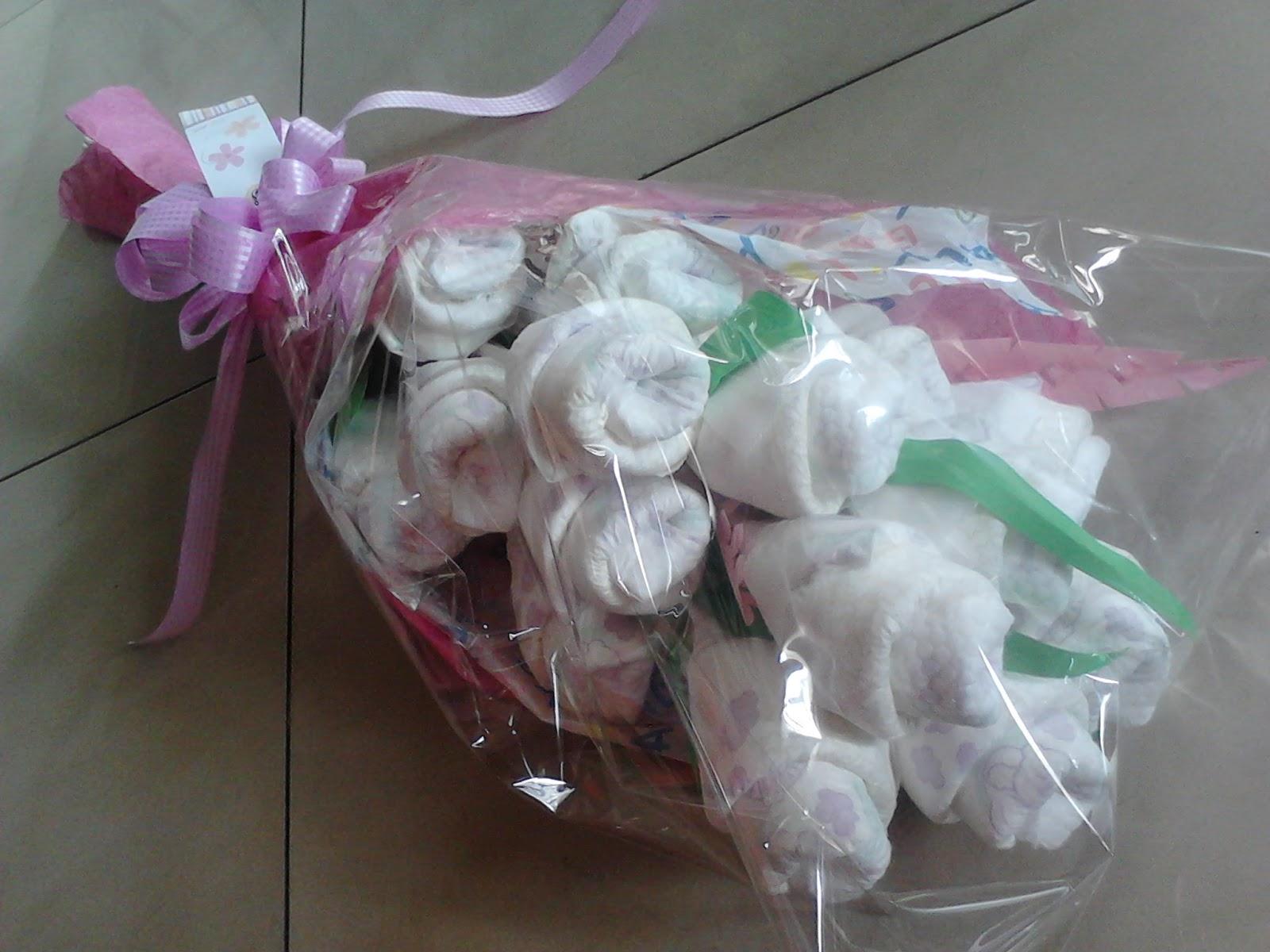 Manila Baby!: Diaper Bouquets