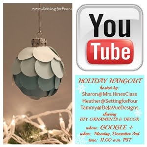 Watch My DIY Ombre Ornament Youtube Video Here!