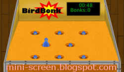 BirdBonk Game: Blackberry Playbook Interface