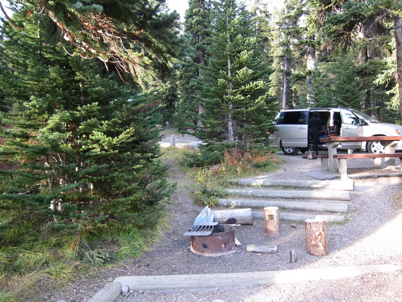 Camper Umo 39 S Campground Reviews Review Columbia Icefield
