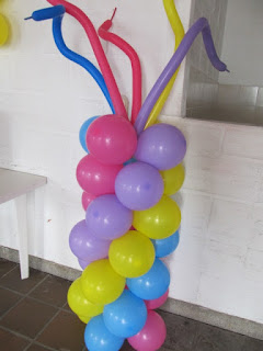 DECORACION CON GLOBOS MY LITTLE PONY - PEQUEÑO PONY