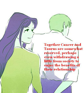 Cancer man Taurus woman September 2015 Compatibility Forecast