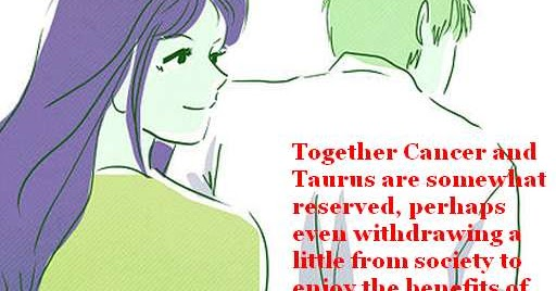 Taurus dating cancer