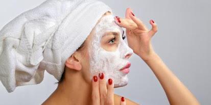 masker beras untuk wajah