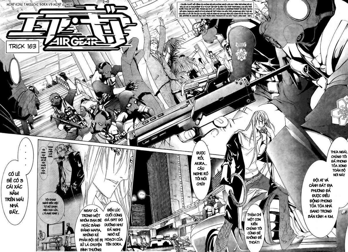 Air Gear Chap 163