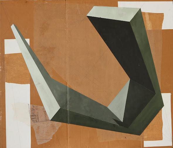 Estructura I 86 x 110 cm 2011