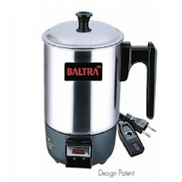 Buy Baltra Electric Heating Cups upto 45% & 10% & 5% off from Rs.270 : Buy To Earn