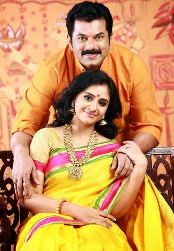 Mukesh Devika Wedding Images-Malyalam actor Mukesh Dancer Devika