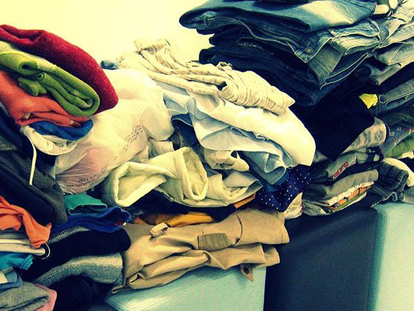 Doação de roupas e agasalhos