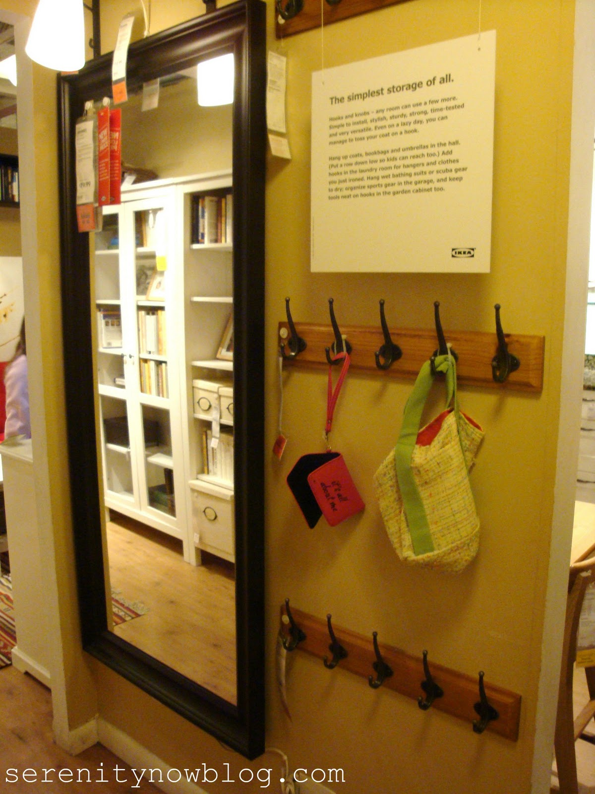 Ikea Drehstuhl Verksam Test ~ More hooks in this narrow mudroom space just like the sign says,  The