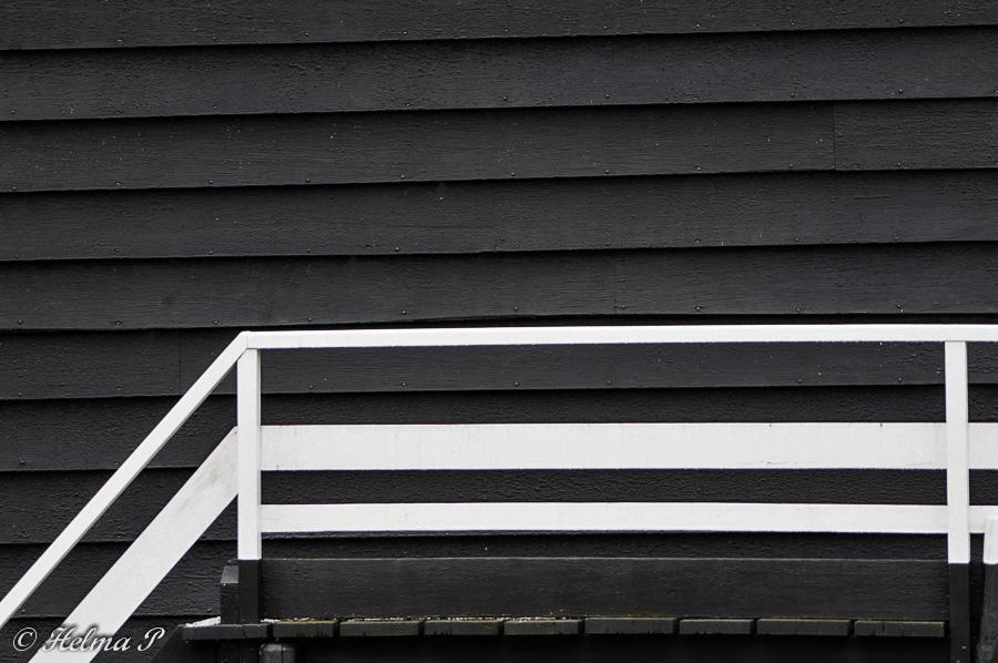 Helma 39 s natuurfoto 39 s maandthema zwart wit - Huis met trap ...