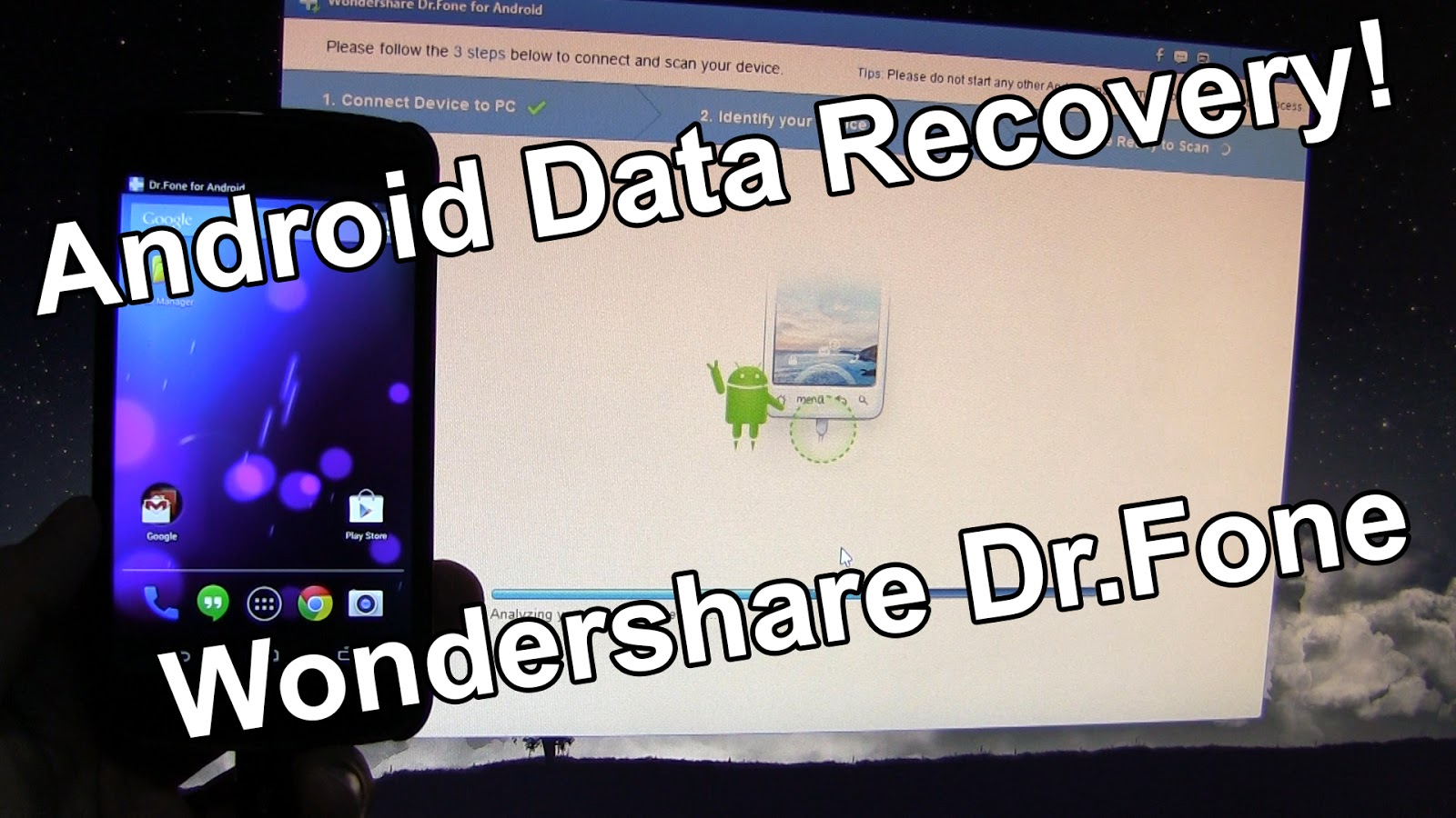 wondershare data recovery app for android