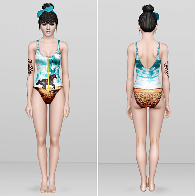 Summer Girl Swimwear for Teen - Elder Females by Rusty Nail