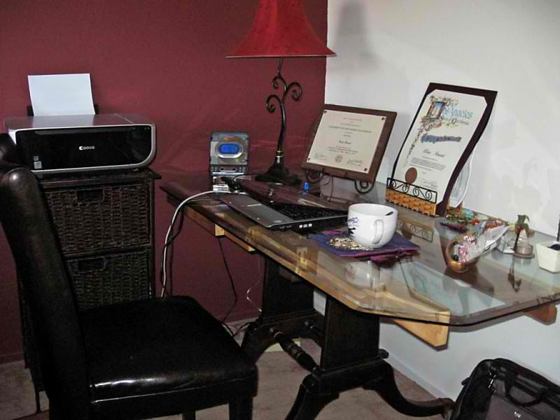 SPECIAL Great Find Repurposed: 1937 Vintage Dining Table Turned Into My  Modern Day Desk