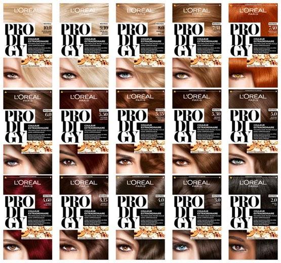 L'Oréal Paris Prodigy gama coloración para el pelo