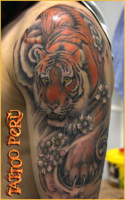 FOTOS DE TATUAJES Tigres_de_bengala