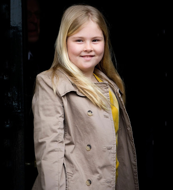 Princess Catharina-Amalia of The Netherlands celebrates her 12th birthday. Princess Catharina-Amalia Beatrix Carmen Victoria was born