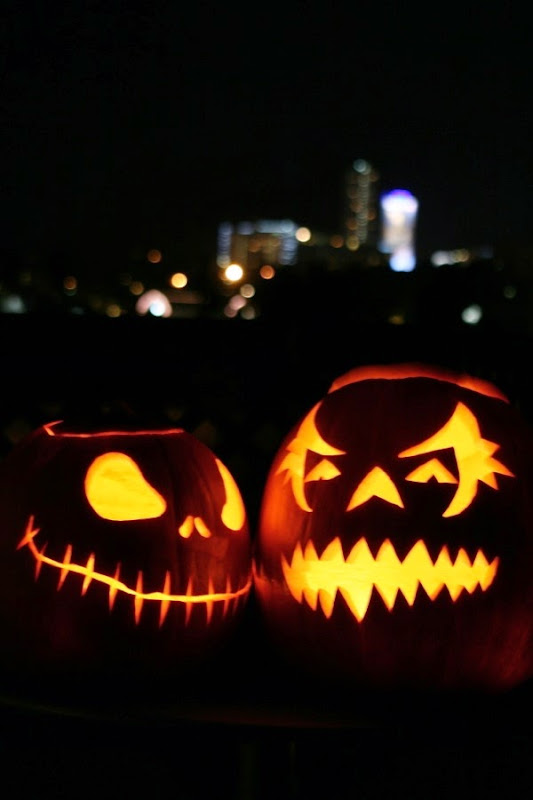 Spooky Halloween pumpkin designs