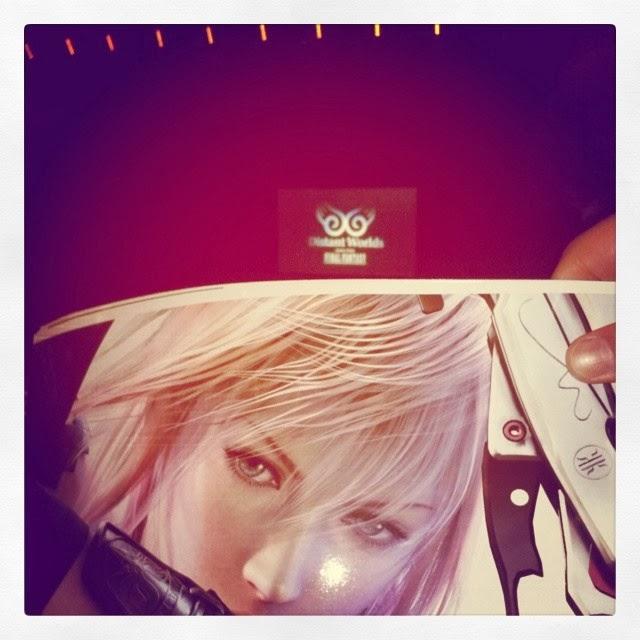 Distant Worlds Final Fantasy : le 8 Mars 2014 à Paris au Palais des Congrès l'après-midi...