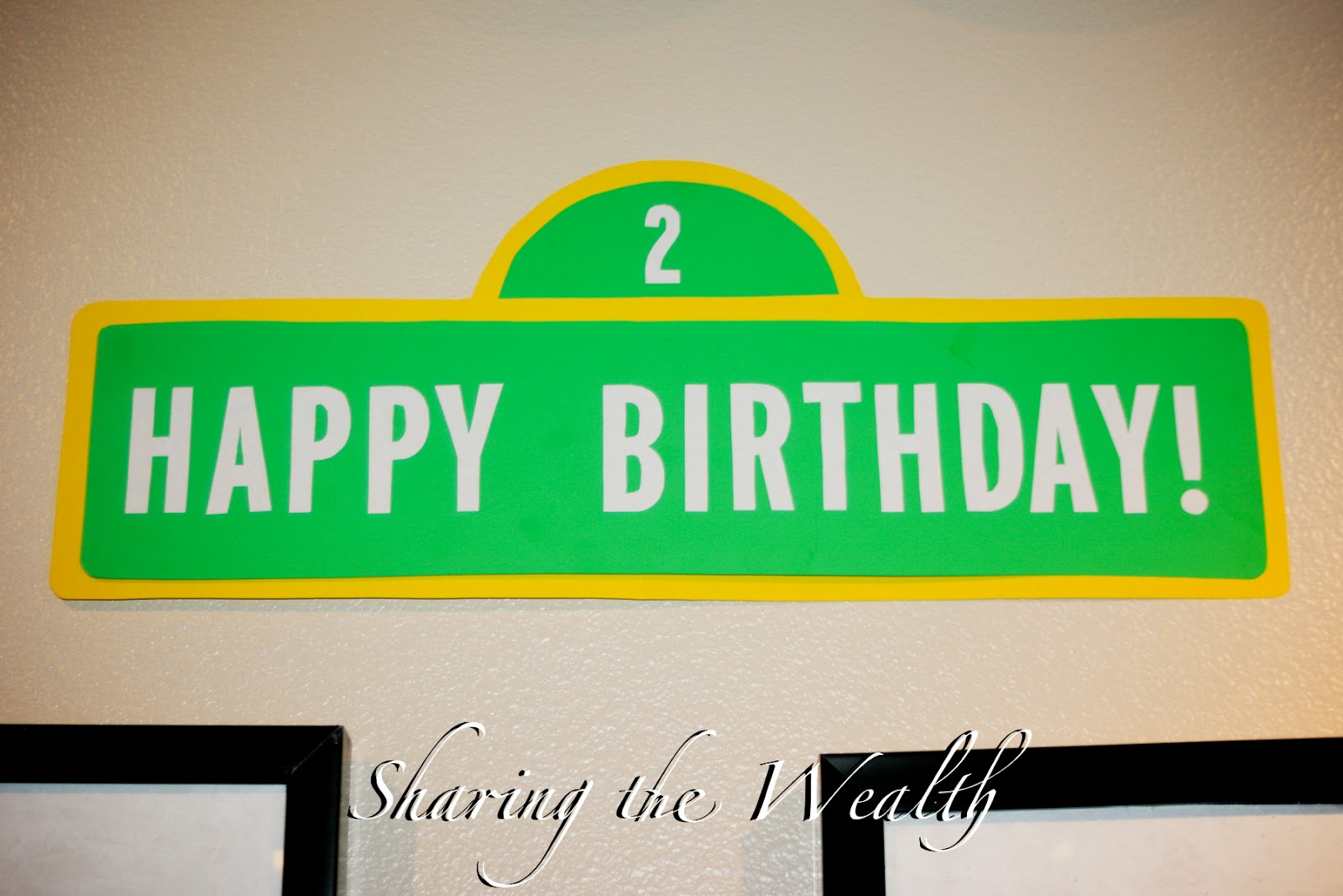 Sharing the wealth sesame street birthday party sesame street birthday party pronofoot35fo Choice Image