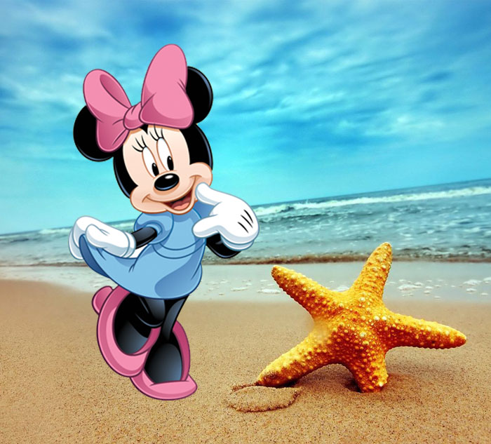 Minnie Mouse Disney Cartoon Character Picture