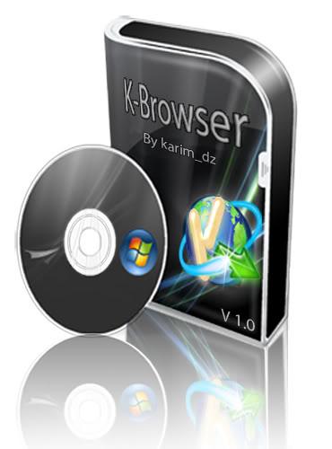 تحميل اخر اصدار من متصفح  K-Browser 4.7.0