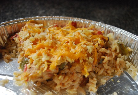 Baked chicken and rice casserole - photo#19
