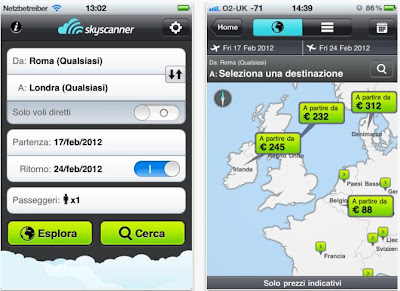 APP IPHONE PER CERCARE VOLI LOW COST GRATIS