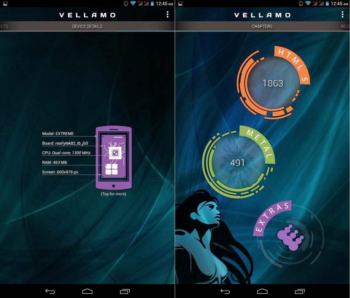 SKK Mobile Extreme Vellamo HTML - 1863 & Metal - 491