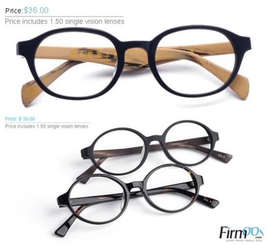 kacamata frame bulat