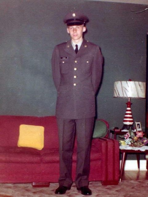 Army Basic Training Graduate - 1960