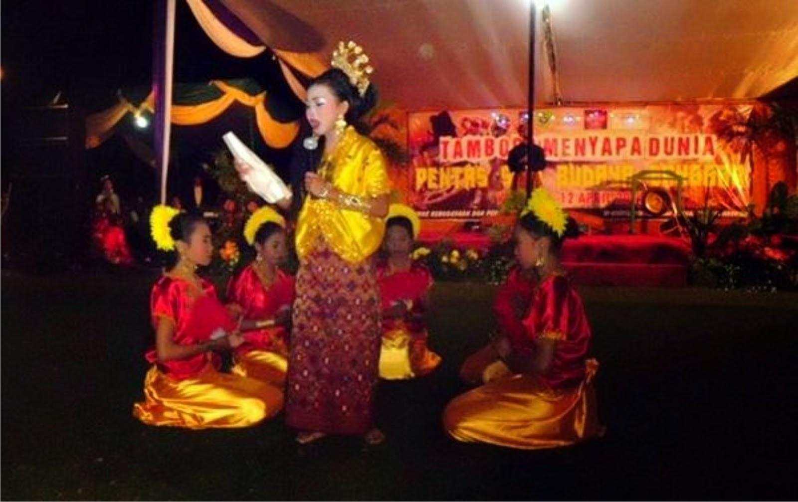 Sambut Event TMD Bupati Buka Festival Seni Budaya Sanggar