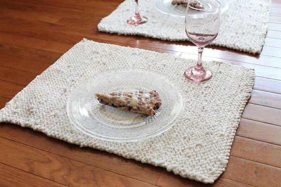 https://www.etsy.com/listing/189510974/white-cream-placemats-knitted-artisan