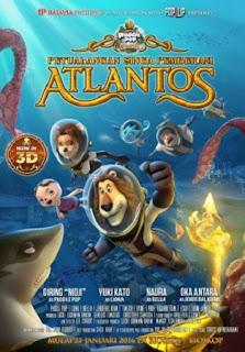 Jadwal PETUALANGAN SINGA PEMBERANI ATLANTOS di Cinemaxx