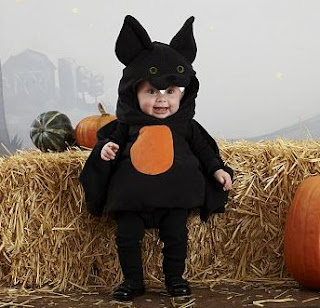 Baby Puffy Bat Costume
