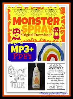 "photo of: ""Monster Spray"" Digital Download Mp3 by Debbie Clement"