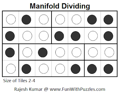 Manifold Dividing (Mini Puzzles Series #6) Solution
