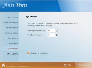 Protect eyesight