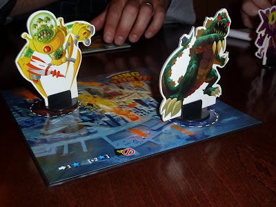 King of Tokyo - Two charachters from the game